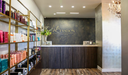Levation Salon Front Desk